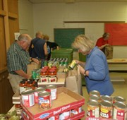 Small Church of Peace launches big fight against hunger