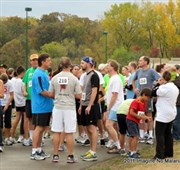 Advent 5K runners chase down malaria